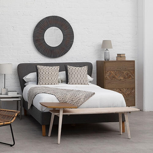 Shop the Nordic Bedroom look