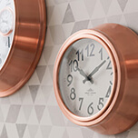 Always be on time: Clocks for every room